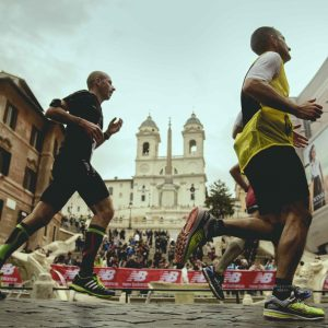 Record Run in Rome