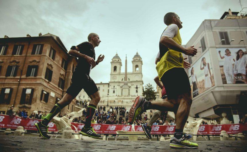Record Run in Rome